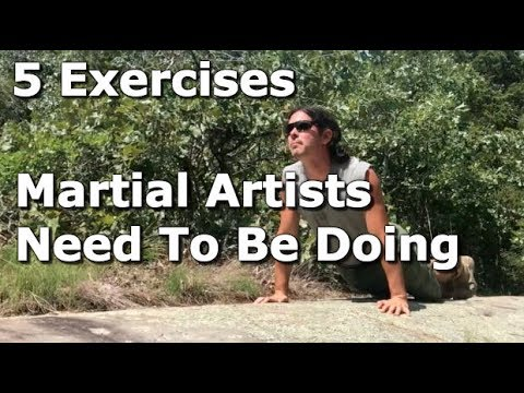 Body Weight Exercises You Need To Do For Martial Arts