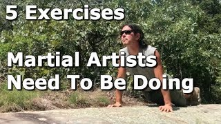 5 Body Weight Exercises You NEED To Do for Martial Arts!