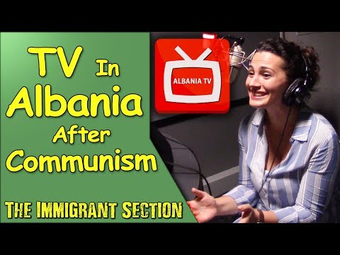 TV in Albania After Communism