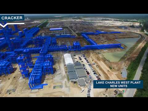 Watch Sasol's ethane cracker and derivatives project come to life (April 2018)