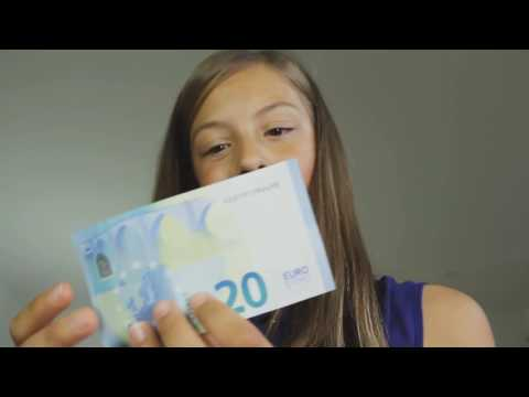 Euro banknotes and coins kids' video   play the Euro Run game!