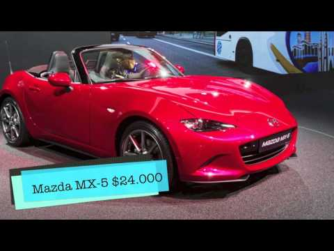 Top 5 Cheapest Convertibles 2016