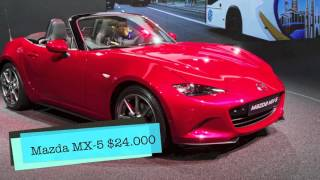 Top 5 Cheapest Convertibles 2017