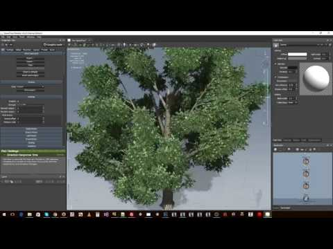 Trainz - Content Creation - #11 - Creating Speedtrees Assets for Trainz