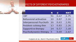 7 Course Meta-Analyses VU: Four decades of research on psychotherapy for adult depression