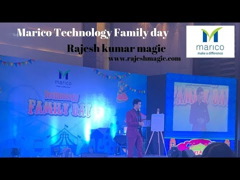 Marico technology Family Day Corporate show By Rajesh kumar magic