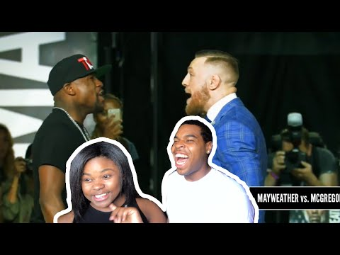 "Thumbnail: ""MAYWEATHER VS. MCGREGOR"" — A Bad Lip Reading - COUPLES REACT"
