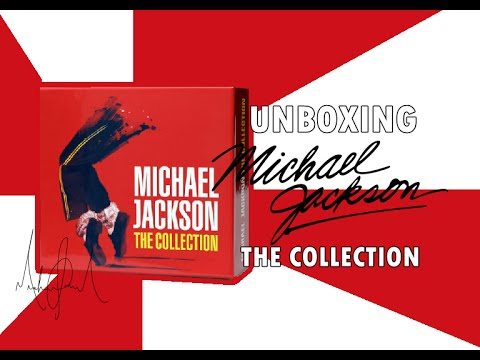 CDs Michael Jackson: The Collection - UNBOXING