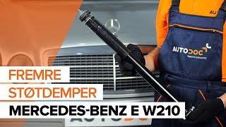 Fjerne Fjærbein MERCEDES-BENZ - videoguide