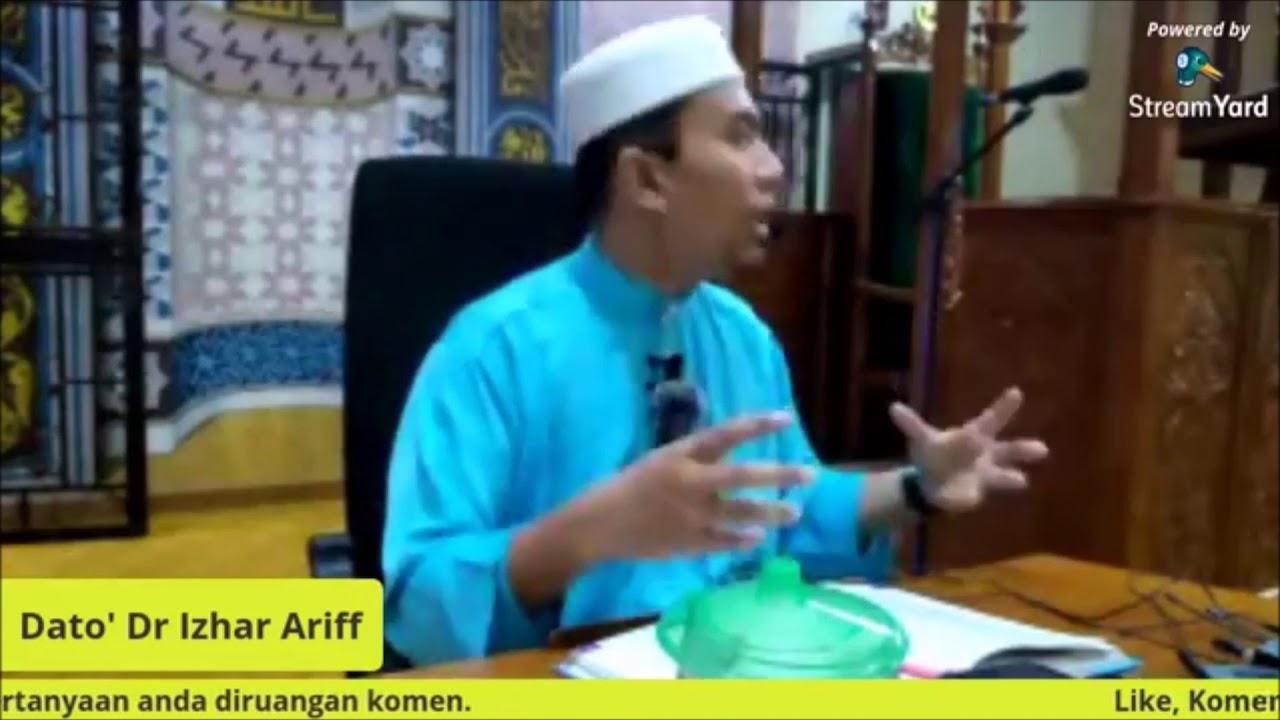 Prof Madya Dato Dr Izhar Ariff : Indahnya Hidup Bersyariat