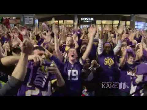 Mall of America Vikings Skol Chant