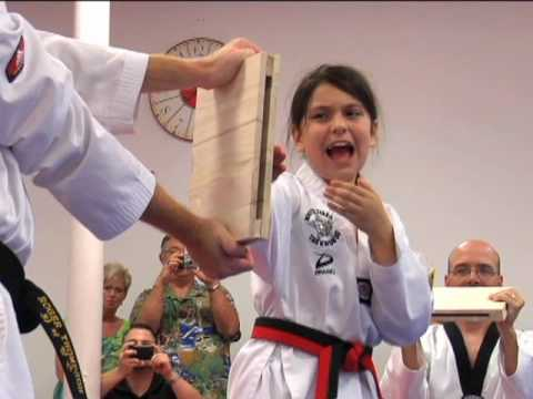 White Tiger Martial Arts First Black Belt Promotion - May 22, 2010