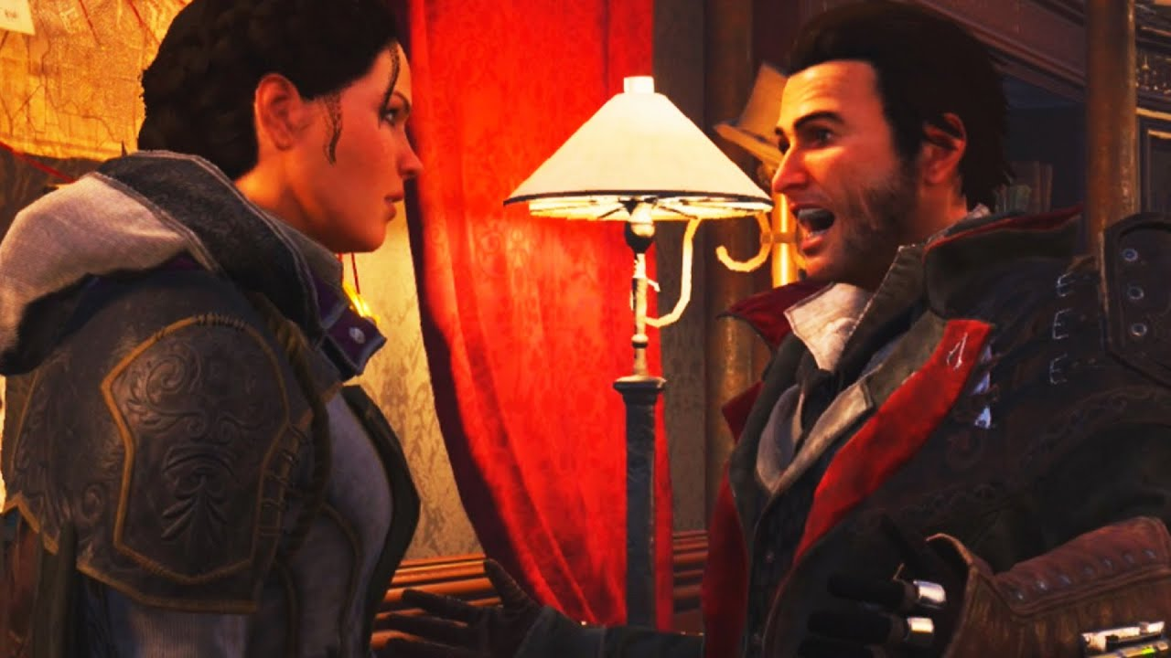 Assassin S Creed Syndicate Jacob And Evie Fight Youtube