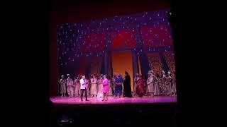 Peabo Bryson and Regina Belle at Aladdin the musical 9/09/19