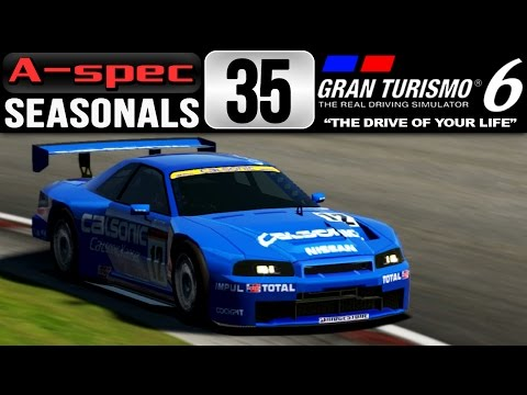 "Gran Turismo 6 [FullHD][60fps] - A-Spec Seasonals #35 - Team ""Ocean Blue"" Racing"