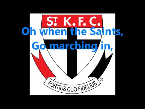St Kilda Saints theme song (Lyrics) AFL Sing-A-Long