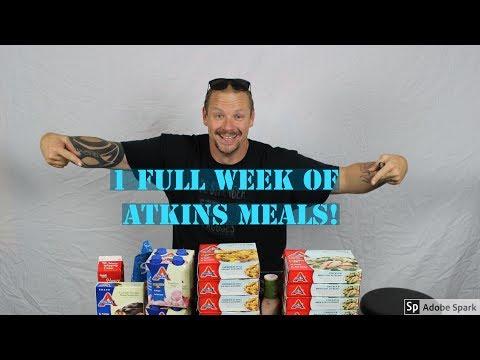 1 FULL WEEK OF ATKINS INDUCTION PHASE