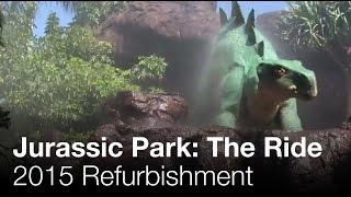 Complete Jurassic Park Ride Universal Studios Hollywood, CA
