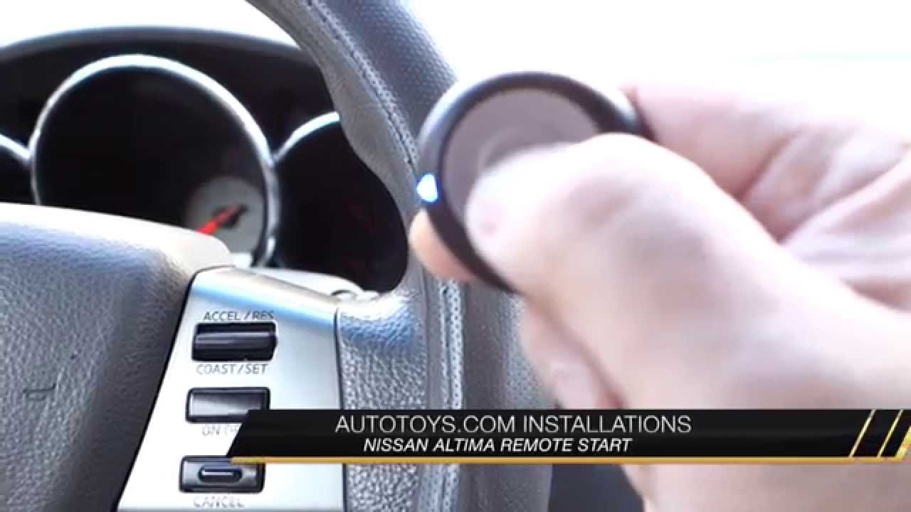 2005 Nissan Altima Remote Starter Wiring Diagram 95 Ford Explorer Ignition Start With Added Remotes By Autotoys Com