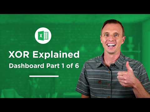 How to use the XOR Function in Excel