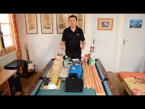 Rénovation d'une table de billard américain - How to re-build a home US pool table - 台球