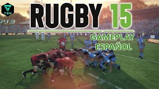 Rugby 15 Gameplay Español PS3