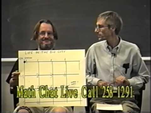 John Conway on Frank Morgan's MathChat