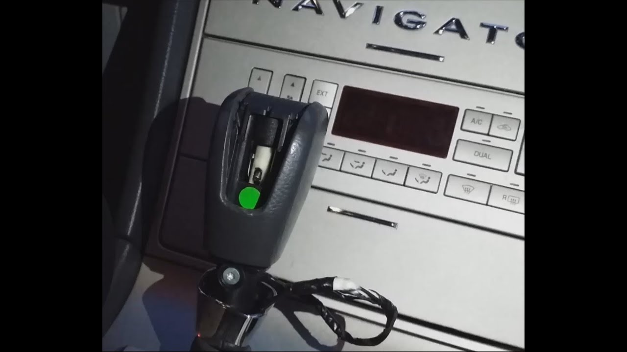 Lincoln Navigator Shifter Is Stuck Locked Gear Amp Key