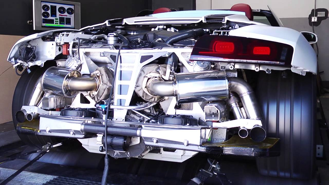 Audi r8 twin turbo kit