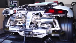 Alpha Performance Audi R8 Spyder Twin Turbo Alpha 10 Dyno