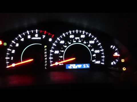 How to Remove the Maintenance Required Light on a 2007-2011 Toyota Camry