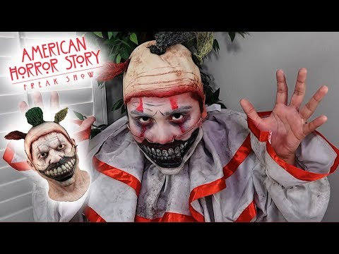 Twisty The Clown Halloween Makeup Tutorial! (AMERICAN HORROR STORY FREAKSHOW)