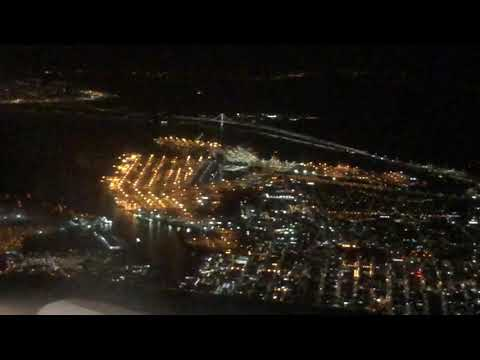 Oakland Army Base Flyover On United Airlines