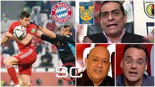 TIGRES UANL vs BAYERN MUNICH ¿Influyó el ARBITRAJE en la final del Mundial de Clubes? | SportsCenter