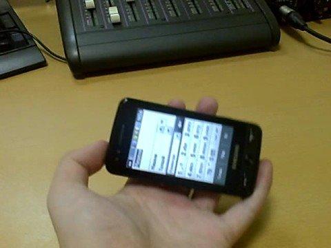 Samsung M8800 Pixon - input