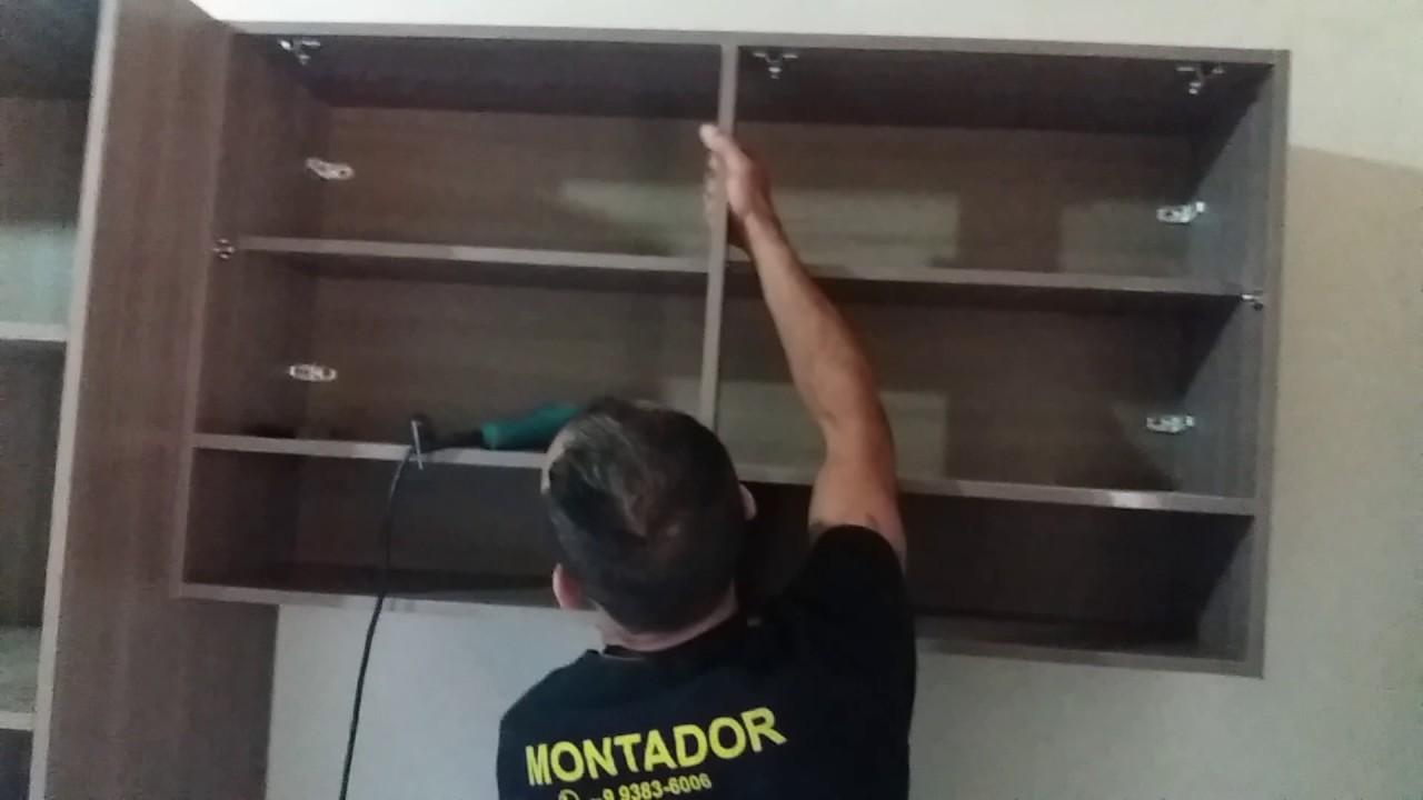Artesanato Love ~ Como montar e pendurar um armario de parede sozinho YouTube