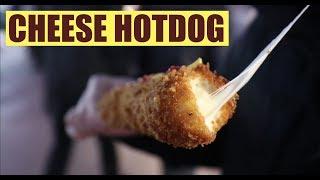 [Korean Street Food] Cheese Hotdog - Bangi Market