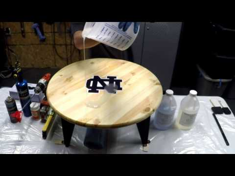 Epox-It 80 Water Clear Epoxy Resin for Table / Bar Tops
