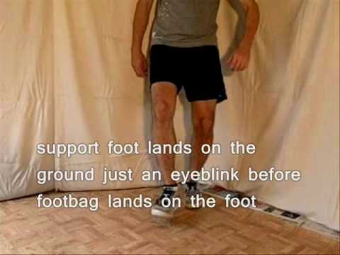 Anz' Trikz - Footwork - Footbag Tutorials