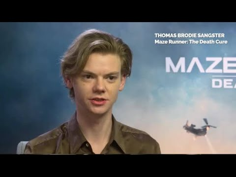 Maze Runner Thomas BrodieSangster on still being the Love Actually kid