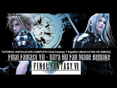 "Tutorial final fantasy vii hd remix/""remake"" bootleg mod package."