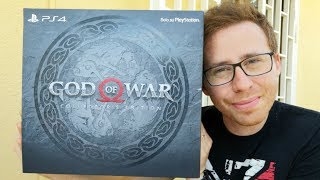 GOD OF WAR (4) Collector's Edition PS4 - UNBOXING in ANTEPRIMA ITALIANA! - ITA