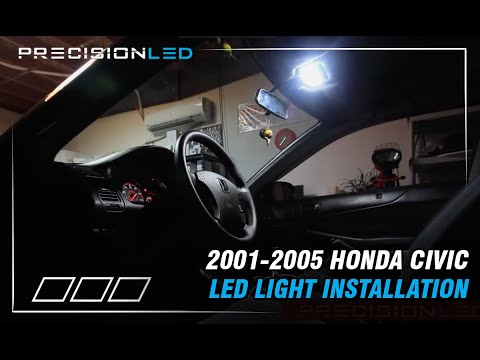 Honda Civic LEDs How To Install - 7th Generation 2001 - 2005