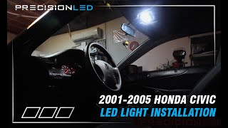 Honda Civic LEDs How to Install - 7th Generation 2001 - 2005