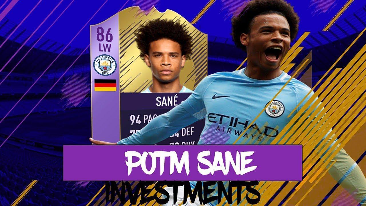 Leroy Sane Fifa 18