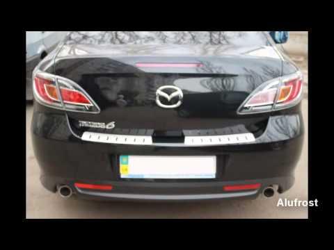 ADS-TUNING - Накладка с загибом на задний бампер для Mazda 6
