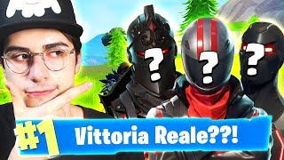 REAL VICTORY?! SQUAD with 3 OSPITI! Fortnite Mobile