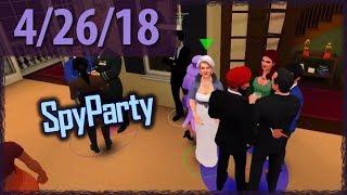 SPY PARTY (w/ Bubbles!) ⫽ BarryIsStreaming