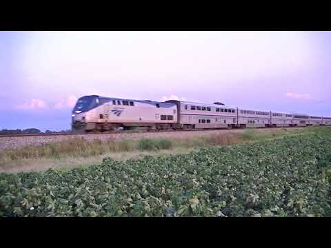 Amtrak 58 @ Tchula MS. 9-1-17