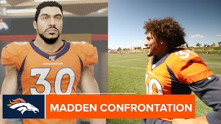 Phillip Lindsay, Bradley Chubb, Justin Simmons & more take issue with their Madden 20 ratings